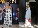Bollywood Divas In Quirky Printed Outfits