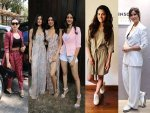 B Town Divas Spotted In Striped And Checkered Outfits