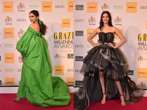 Bollywood Best Dressed Divas At The Grazia Millennial Awards