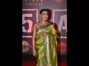 Sayani Gupta Spotted In A Green Silk Sari At The Screening
