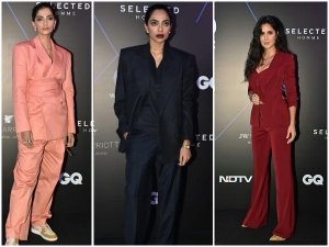 Sonam Sobhita And Katrina In Power Suits For Gq Best Dressed