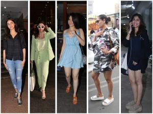 Bollywood Divas Spotted In Simple Casual Outfits