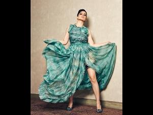 Kangana Ranaut S Garter Dress For Judgemental Hai Kya Promotions