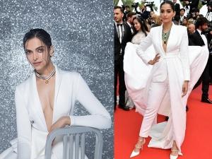 Deepika Padukone And Sonam Kapoor Ahuja S Same Outfit