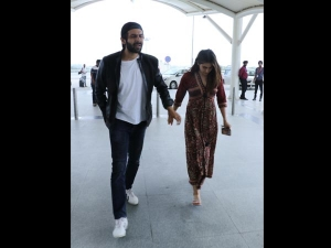 Sara Ali Khan In A Fusion Dress At The Airport And Spotted