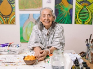 Luchita Hurtado 98 Year Old Holds First Solo Art Exhibition In London