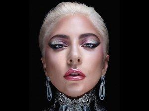 Recreate Lady Gagas Dual Tone Matallic Makeup Look