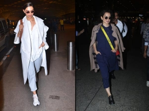 Deepika Padukone Kangana Ranaut And Other Celeb Airport Looks