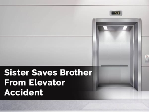 Sister Quick Thinking Rescues Little Brother From Being Strangled To Death By Rope Caught In Lift Do