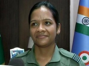 Minty Agarwal Woman Awarded Yudh Seva Medal