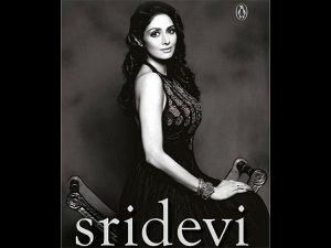 Vidya Balan Launches The Cover Of Sridevi Girl Woman Superstar On Sridevi S Birthday