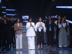 The Gen Next Designers Show At The Lakme Fashion Week Winter Festive 2019