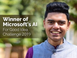 Indian Student Ai Organ Donation App Wins Microsoft Ai For Good Idea Challenge