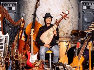 13 Years Old Multi Instrumentalist Neil Nayyar Plays 107 Instruments
