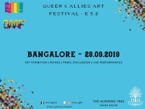 Bangalore Queer And Allies Art Festival E5 On September 28
