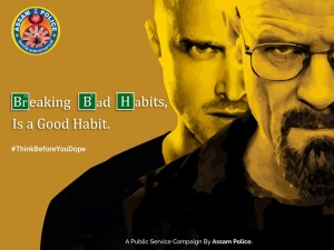 Breaking Bad Habits Assam Police Tweets A Message Against Drug Abuse
