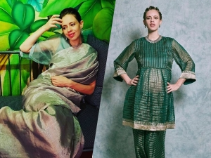 Kalki Koechlin S Traditional Outfit Goals