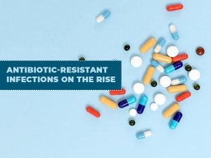 Antibiotic Resistant Infections On The Rise Reveals New Study