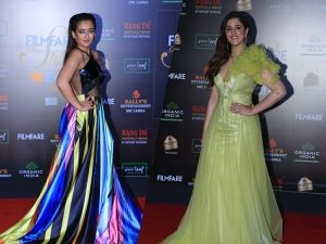 Akshara Haasan Nupur Sanon And Other Divas At The Filmfare Glamour And Style Awards