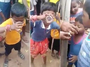 It S Shocking How Some Men Are Openly Distributing Alcohol To Children