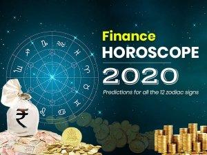 Finance Horoscope 2020