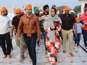 Shraddha Kapoor In A Sporty Fashionable Outfit At Gurudwara