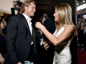 Brad Pitt And Jennifer Aniston At Sag Awards 2020