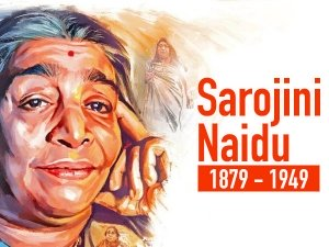 Sarojini Naidu Birth Anniversary Facts About Nightingale Of India