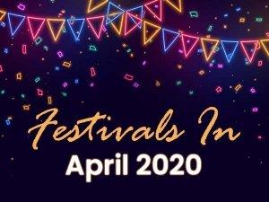 List Of Indian Festivals April 2020