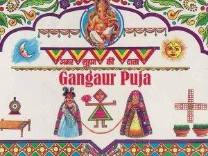 Gangaur Muhurta Rituals And Significance