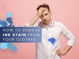 Ways To Remove Ink Stains From Clothes