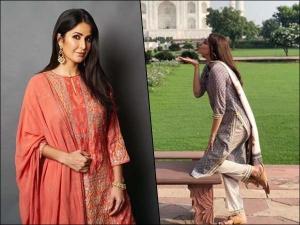 Kajal Aggarwal Katrina Kaif And Other Divas Best Traditional Outfits For Eid Ul Fitr
