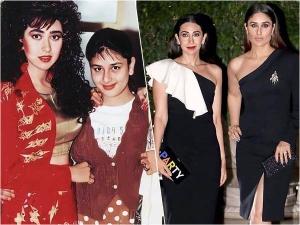 Kareena Kapoor Khan And Karisma Kapoor S Then And Now Fashion Looks