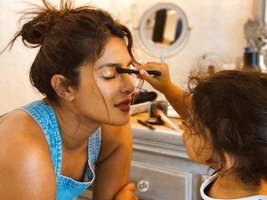 Priyanka Chopra S Makeover By Her Niece Sky Krishna