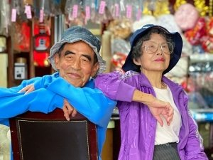 This Old Couple Turn Elderly Models From Taiwan Are Doing Rounds On Instagram For Their Chic Style