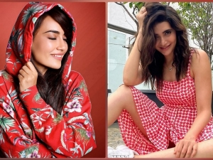 Karishma Tanna And Surbhi Jyoti Give Party Fashion Goals In Their Red Outfits