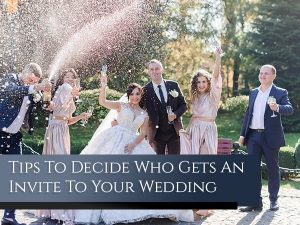 Tips To Make Guest List For Your Wedding