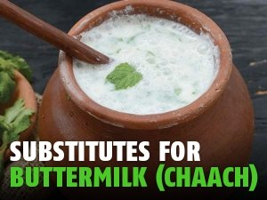 Tasty Substitutes For Buttermilk