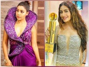 Surbhi Chandna Debina Bonnerjee And Other Divas Outfits At Gold Awards