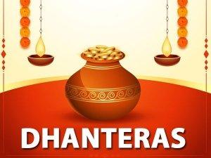 Muhurat Significance Of Dhanteras