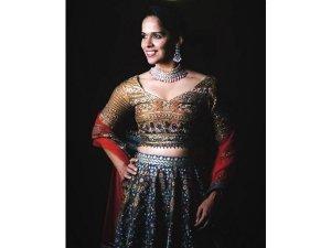 Saina Nehwal S Stunning Lehengas On Instagram