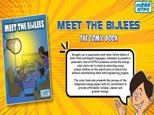 Ntpc Comic Book Meet The Bijlis About Electricity For School Children
