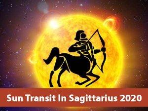 Sun Transit In Sagittarius On 15 December 2020 Effects On Zodiac Signs