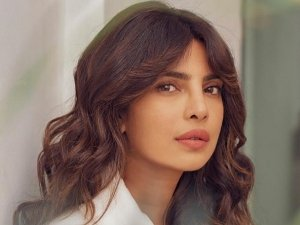 The White Tiger Actress Priyanka Chopra Jonas Cool Messy Hairdo On Instagram