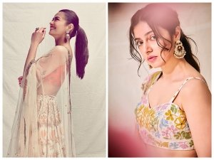 Surveen Chawla And Divya Khosla Kumar S Floral Lehenga