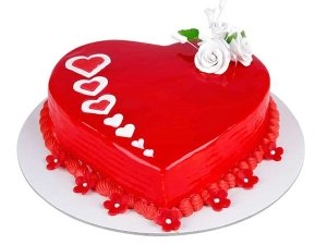 How To Make Heart Cake Without Mould