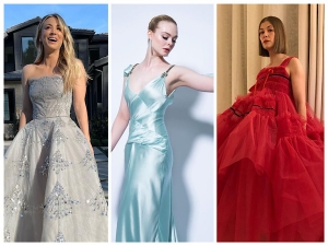 Golden Globes 2021 Celebrities Red Carpet Looks
