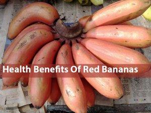 Health Benefits Of Red Bananas