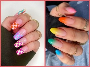 Nail Art Designs With Multicolours To Try This Summer