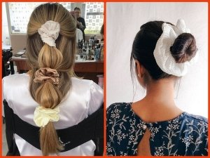Easy And Quick Scrunchie Hairstyles You Can Do To Look Effortlessly Flawless